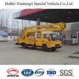 camion aereo della piattaforma di rotazione idraulica di 16m Dongfeng 360