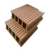 Decking de WPC com madeira e plástico Waste para o exterior