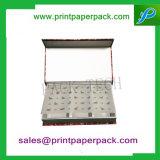 Напечатанная таможней коробка дух коробки ювелирных изделий бумажной коробки шоколада вычуры коробки торта подарка коробки упаковки картона косметическая