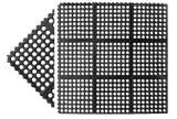 Vario tipo stuoie di gomma antisdrucciolevoli del quadrato