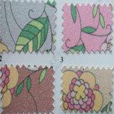 Bloemen schitter het Leer van Pu voor Decoratie hw-532 van het Pakket