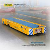 Karretje van de Overdracht van het Bed van de Aanhangwagen van de Behandeling van het Spoor van het lage Voltage het Geleide Lage