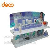 Soporte de visualización de papel de la cartulina del estante de visualización para el cosmético