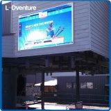 Bandera grande a todo color al aire libre para hacer publicidad, marcador, media al aire libre del LED