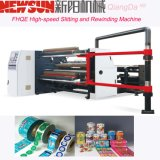 Fhqe-1600 BOPP de alta velocidad que raja y máquina el rebobinar