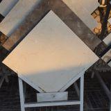32X32 China barata afiló con piedra los azulejos de mármol blancos, precio del azulejo de la pared