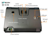 Il mini PC di Wecon 7 pollici comunica con VFD e l'altro servomotore