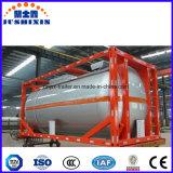 recipiente líquido corrosivo 40FT químico do tanque de 20FT, petroleiro do recipiente de ISO para a venda