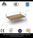 La parte superiore di legno del tavolino da salotto del Cutler Hzct122 Metals i piedini