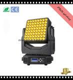 Luz principal móvil de la arandela de la pared de la luz 64X3w de la matriz LED