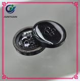 Teclas de revestimento da tecla da resina dos acessórios de matéria têxtil e de roupa