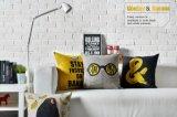 Almohadilla suave del amortiguador del juguete del amortiguador del hogar del modelo decorativo amarillo del plátano