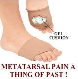 발 고통 앞 발 단화 안창 발가락의 Metatarsal 방석 실리콘 젤 패드 공