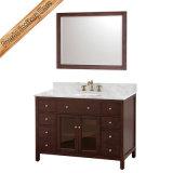 Шкаф ванны тщеты ванной комнаты твердой древесины высокого качества Fed-1006b