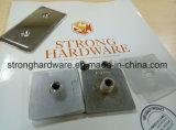Sh-45-180ad /SUS201/304 in lega di zinco, parentesi graffa del divisore in vetro un doppio da 180 gradi