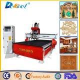 4 máquina do Woodworking do router do CNC das cabeças 3D da linha central 4 para a venda