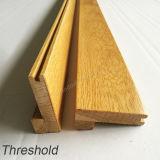 Твердый порог древесины дуба отливая в форму деревянный (редуктор ковра) для настила