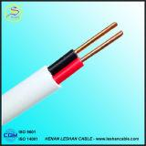 Fabrication isolée par PVC BV/Bvr/BVVB/RV/Rvv de fil électrique et de câble