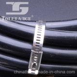 Ataduras de cables revestidas multiusos del acero inoxidable del metal