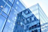 Frameless ha temperato la parete divisoria di vetro laminato per costruzione