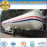 ASME 45-50 Cbm M3 LPG 탱크 트레일러 25t 톤 LPG 유조선 가격