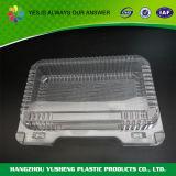 Alimentos Grado Venta caliente de plástico contenedor de alimentos con tapa