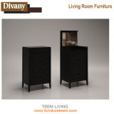 Poitrine des tiroirs antique pour le Module de salle de séjour et de chambre à coucher