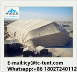 Qualitäts-geräumige große Kurven-im Freienzelte für Flugzeug-Aufhängungs-Hersteller