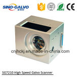 ステンレス鋼のための高性能レーザーのマーキングのGalvoのスキャンナーSg7210