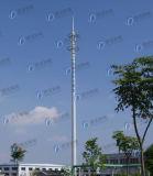 Télécommunications galvanisées à chaud durables unipolaires