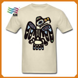 Impression faite sur commande de sublimation de T-shirt de qualité