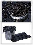 Schwarzer Masterstapel für Plastiktasche