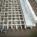 Qualitäts-Steinbruch-Felsen-Stahl gesponnenes Stahlbildschirm-Ineinander greifen für Zerkleinerungsmaschine
