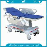 Barandilla del Hospital AG-HS008 Ce ISO ABS de lujo Transferencia de Pacientes Camilla