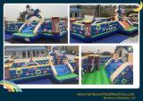 子供および大人のためのベストセラーのおかしく膨脹可能な運動場Funcity