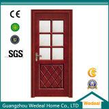 Personnaliser la porte composée intérieure stratifiée par PVC en bois