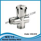 Válvula de ângulo para máquina de lavar com conector de extensão (V22-018)