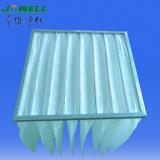 Фильтр фильтровального кармана мешка синтетического материала F5~F9 для Cleanroom