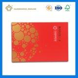 Rectángulo cosmético de lujo impreso aduana de la alta calidad 2017 (con la bandeja interna)