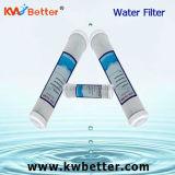 Cartuccia di filtro dall'acqua della cappa di CTO con la cartuccia di filtro dall'addolcitore dell'acqua