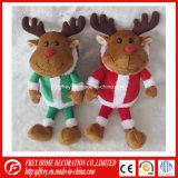 Brinquedo pequeno macio dos cervos do tamanho para o presente do Natal