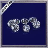 De prachtige Ster sneed Witte Kleur 3mm het Ronde Zirkoon van de Stenen van CZ voor het Maken van Juwelen