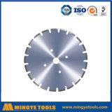 La circulaire de diamant scie des lames pour la route bétonnée de découpage