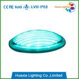 청록색 LED 수영장 빛