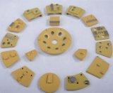 Sapatas de moedura concretas P04 da placa de moedura de PCD/PCD
