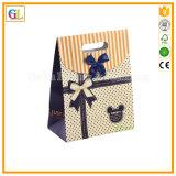 Дешевый изготовленный на заказ оптовый бумажный мешок подарка