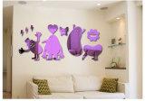 3D Beeld van kinderen voor de AcrylSpiegel van de Decoratie van het Huis