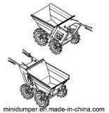 Тележка /Muck Dumper /Mini затяжелителя сада двигателя малая для Хонда с сертификатом Ce емкости 250kg