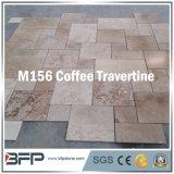虚栄心のための自然な大理石の石造りのTravertineのタイルか浴室の壁及び床
