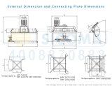 Mezclador prefabricado planetario de Sicoma Mpc750
